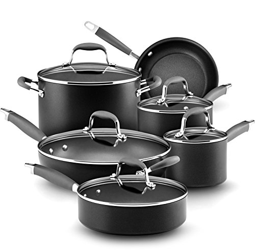 Anolon Advanced Hard-Anodized Nonstick 11-Piece Cookware Set