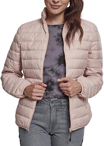 Urban Classics Ladies Basic Jacket Chaqueta, Rosa (Light Rose 00838), S para Mujer