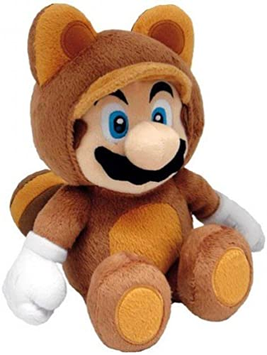 Super Mario 3D Land Tanooki Mario 12  Plush