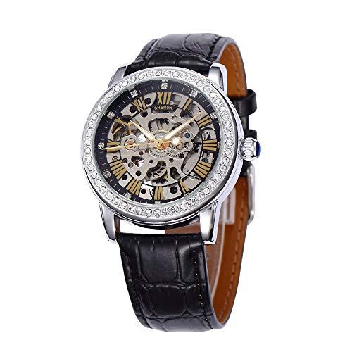 SJXIN Orologio meccanico di alta qualità, Shenhua / 9592N orologio meccanico automatico da donna (Color : 1)