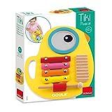 Goula- Tiki musical 3 en 1, juguete con sonido, Color surtido (Diset 53132)