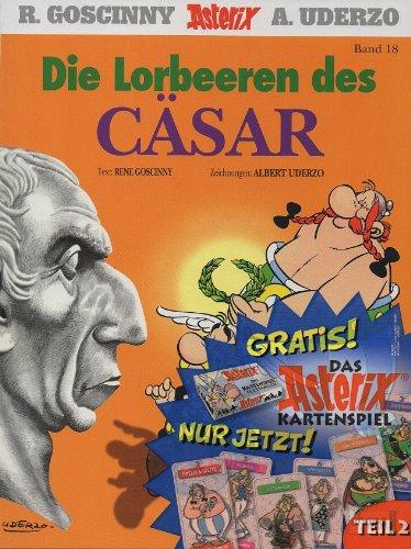 Asterix - Die Lorbeeren des Cäsar - Band Nr. 18 - Mit dem Extra