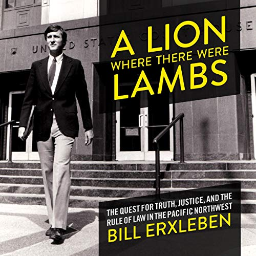 A Lion Where There Were Lambs audiobook cover art