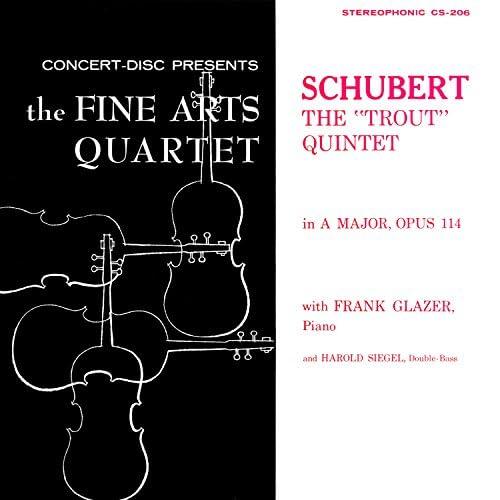 Members of the Fine Arts Quartet, Michael Steinberg, Frank Glazer & Harold Siegel