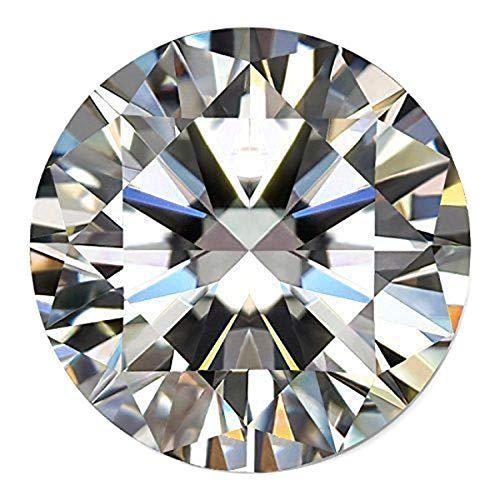 Runder Brillantschliff Moissanite 2.70 Ct - Bestnote Lose Moissanite Weißer Moissanite Diamantedelstein