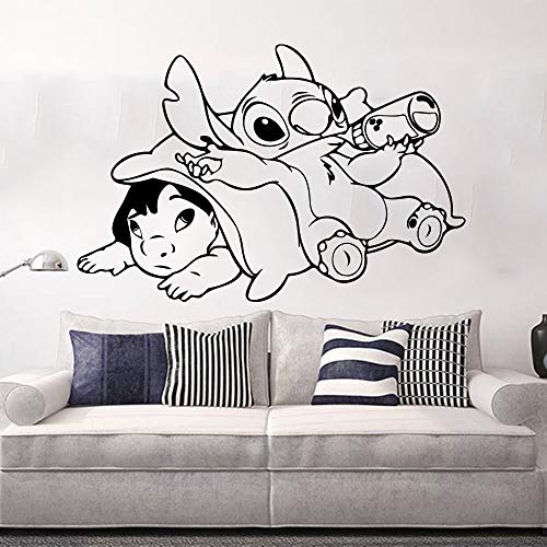 yaonuli Wandaufkleber Kinderzimmer Cartoon Anime Handarbeiten Wandtattoo Vinyl Dekoration 63X40cm