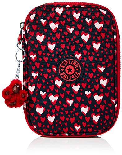 Kipling 100 bolígrafos 100 bolígrafos, 5 x 21 x 15 cm, Festival del Corazón (Rosa) - KI362465E