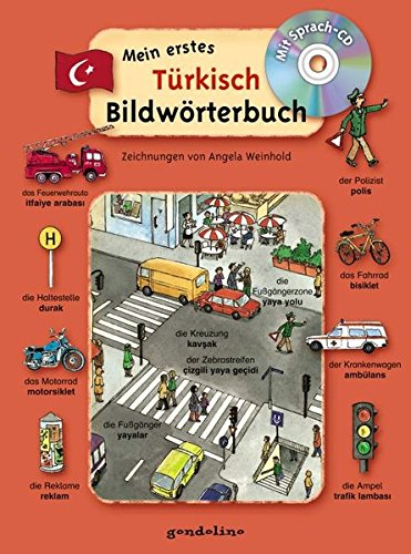 Mein erstes Türkisch Bildwörterbuch + CD: Mit zahlreichen Redewendungen für den Alltag. Mit umfangreicher Wörterliste. Sprachen lernen mit Bildern schon ab 3 Jahre. Für 5,95 €.