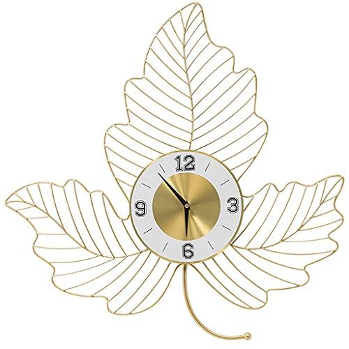 Diaod Reloj de Pared de Hierro Forjado Adornos para Colgar en la Pared Sala de Estar Mural de Pared para el hogar Decoración Hotel Oficina Etiqueta de la Pared Artesanía
