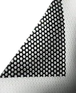 VViViD One Way perforierte Fensterfolie aus Vinyl für Privatsphäre, Rolle, Aufkleber, DIY, einfach zu bedienen, Luftablass Kleber (30 x 137 cm)