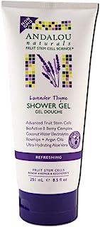 Andalou Naturals Lavender Thyme Shower Gel, Pack of 3