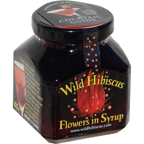 Amazoncom Wild Hibiscus Flowers In Syrup 88 Oz 250 G