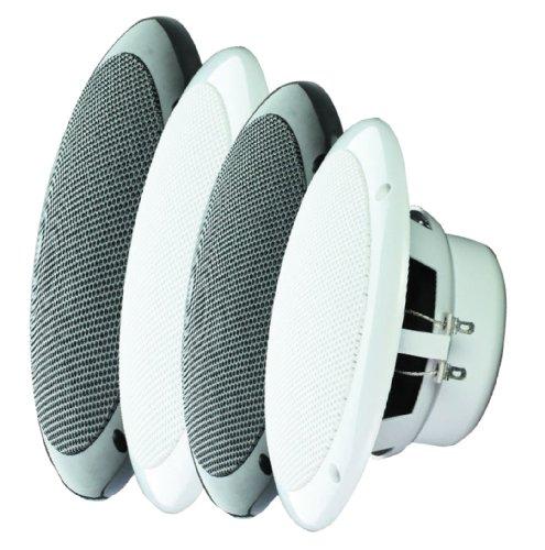 E-Audio Round Ceiling Speaker with Dual Moisture Resistant C