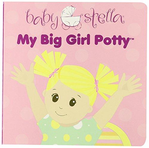 Manhattan Toy Baby Stella Ma grande fille Potty Baby Poupée Accessoires Conseil d'entraînement de toilette Livre