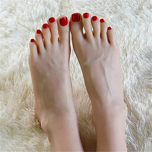 Pie Fetichista, de Silicona Juguete maniquí de pie Fetiche Vasos sanguíneos visibles Desarrollo más Reciente Modelo Muchachas Tobillo del pie del pie Hobby Fußkultur Arte Modelo de simulación