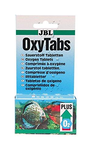 JBL OxyTabs 20080 Sauerstofftabletten für Süßwasser Aquarien, 50 Tablette