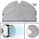 [page_title]-Original Xiaomi MI Robot Vacuum Cleaner Roborock Saugroboter Ersatzteile Verschleißteile 6er Pack Wischtücher Mopping Cloth Sparpack (Set IIIII)