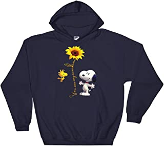 Eureka-Store You are My Sunshine Hoodie-Cute Snoopy t-Shirt for Men Women Kids-Snoopy Shirt