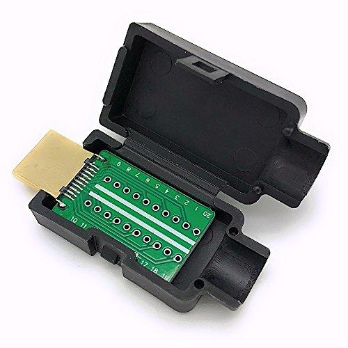 BerryBase - HDMI A-Stecker, 19 polig, zur Kabelmontage, Lötmontage