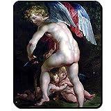 Eros Griechenland Mythologie Gott Liebe Leidenschaft Antike Gemälde Peter Paul Rubens 1614 - Mauspad Mousepad Computer Laptop PC #16468