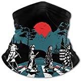 Anime Face Mask Demon Slayer Face Mask Print Scarf Bandanas Breathable Dust Proof for Outdoors Sports