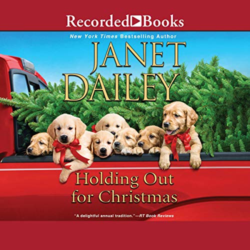 Holding Out for Christmas audiobook cover art