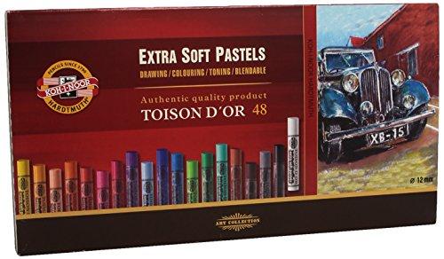 Koh-I-NOOR Toison D \'or 8556Künstler-Extra weiche Pastellkreiden (48Stück)