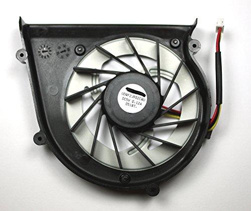 Power4Laptops Ventilador para Ordenadores portátiles Compatible con Sony Vaio VGN-BZ