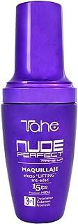 Tahe Nude Perfect Maquillaje/Base de Maquillaje Profesional, Efecto Lifting, Cobertura Alta, F.P.S 15, Nº 41, 40 ml