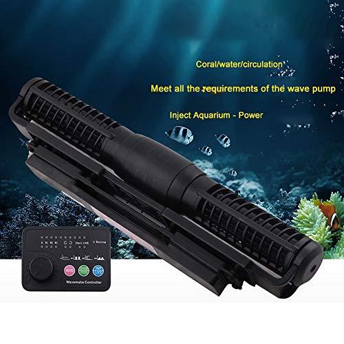 Haomingxing Wavemaker,Cross Flow Wellenpumpe mit verschiedenen Strömungsarten Passend,für Master/Slave-Pumpensteuerung Aquarium Wave Maker CP25
