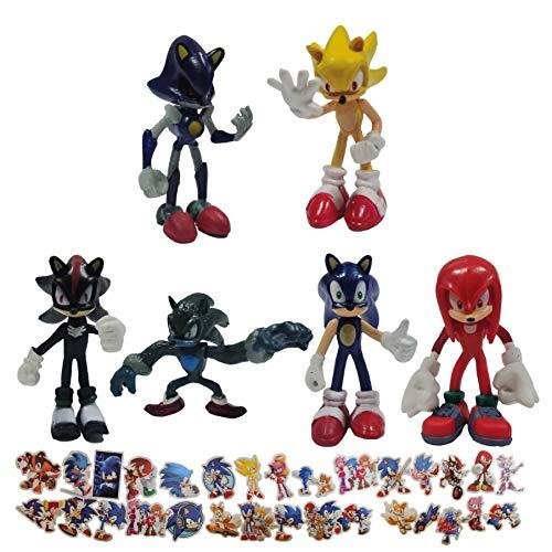 Sonic Anime Figura Sonic Erizo Mano Oficina Aberdeen Classic Sonic Juguete coleccionable