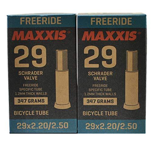 Maxxis Freeride 29x2.2-2.5 Bike Inner Tube Schrader AV, 2Pack, STB2039-2