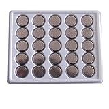 SkoTeRy 50 Pack CR2032 Lithium Battery 3V cr2032 Coin Cell 230mAh Bulk