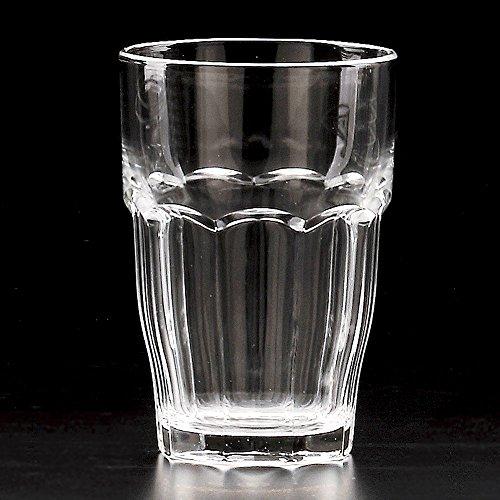ロックバー370ジュース [8.2 x 12cm 370�t 279g] 【グラスウエア】 強化輸入 | 料亭 旅館 和食器 飲食店 おしゃれ 食器 業務用