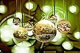 Inspired Walls Weihnachten Snow Village Ornaments Giant