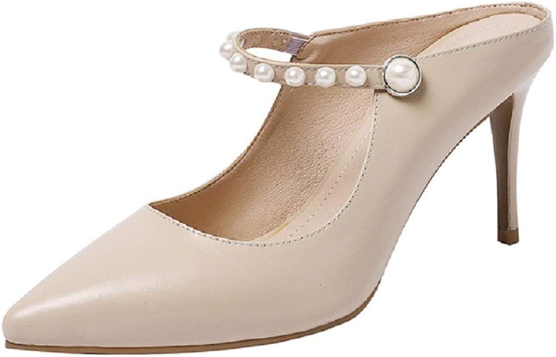 EKS Neue Spitze sexy Perlen Perlen Perlen Mode Tasche Zehe High Heel Stiletto Schuhe 8ffba6