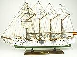 Maqueta de Barco montada Juan Sebastián Elcano