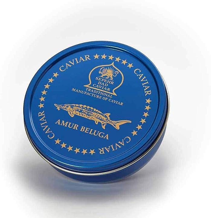 Caviale di storione beluga amur (30g)  sepehr dad caviar B07MJBN1C9