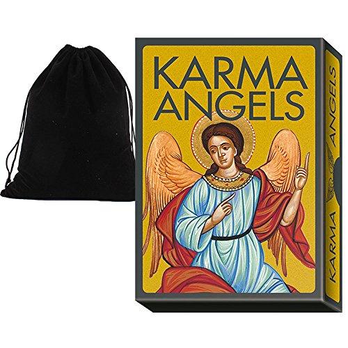 Shop4top Karma Angels Orakel Karten Deck Und Beutel