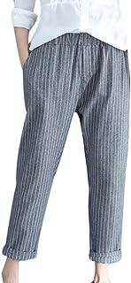 5637e61940f94 Pantalon Fluide Femme Mousseline Taille Elastique POPLY Sexy Fitness  Sarouel Femme Noir Chic Jean Pantacourt Femme