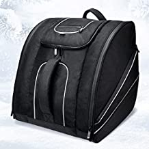 kemimoto Ski Boot Bag – Skiing Travel Luggage, Stores Gear Including Jacket, Helmet, Goggles, Gloves & Accessories, Venting for Snow Drainage