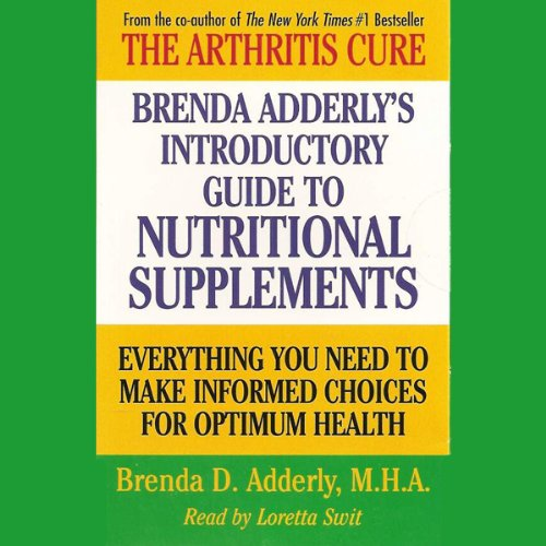 Brenda Adderly's Introductory Guide to Nutritional Supplements cover art