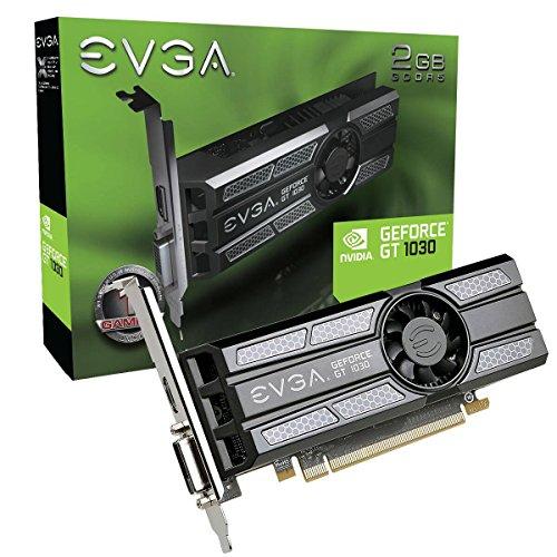 EVGA GeForce GT 1030 SC 2GB GDDR5 Low Profile Grafikkarte 02G-P4-6333-KR