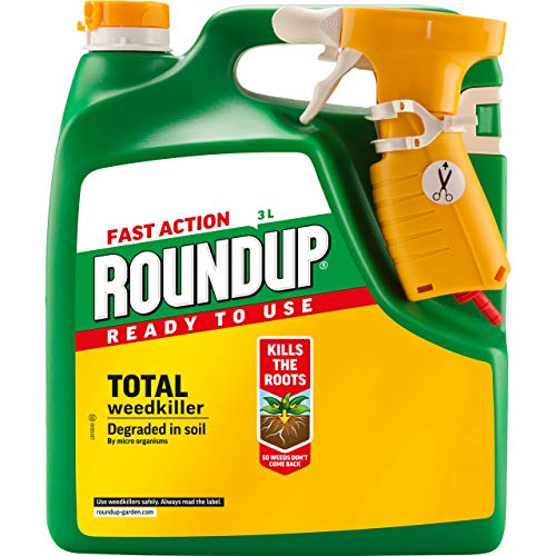 Roundup Fast Action Weedkiller, Ready to Use, Manual Spray 3 L