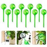 Juego de 10 bolas de riego, riego dosificado, transparente, PVC, dispensador de agua de plástico para plantas de maceta