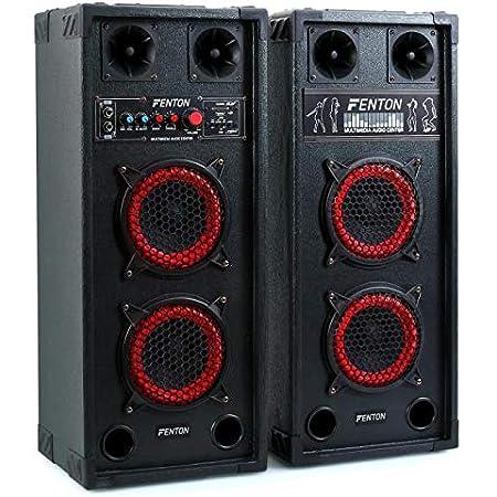 Fenton SPB-26 Altavoces Woofer - activo y pasivo, 600W, 15cm, Bluetooth