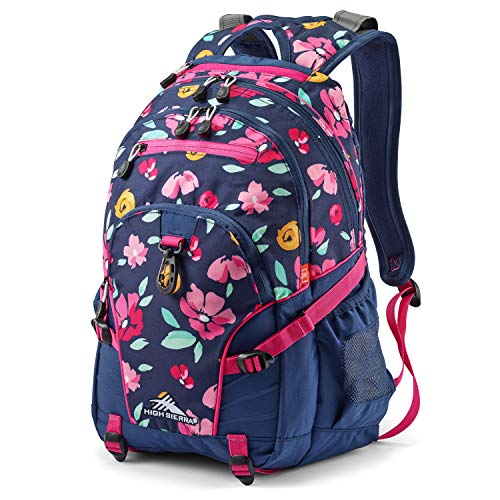 High Sierra Loop Backpack, Bloom, 19 x 13.5 x 8.5-Inch