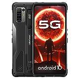 5G Outdoor Smartphones ohne Vertrag, Ulefone Armor 10 Handy, MediaTek Dimensity 800-Chipsatz, Octa-Core 8+128GB, 6,67-Zoll-Display, AI Quad-Rückfahrkameras (64MP+8MP+5MP+2MP), 5800mAh Batterie