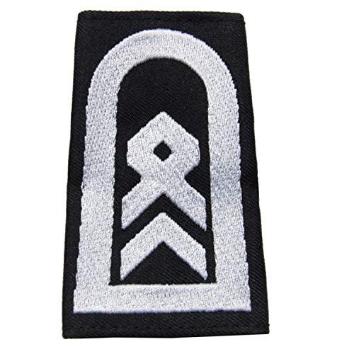 baum-m gmbh Rangschlaufen für Schulterklappen, Farbe:schwarz Stabsfeldwebel