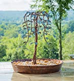 BGYVNU Tree of Life Indoor/Outdoor Electric Fountain,Beautiful Fountain with Tree of Life Design Life Waterfall Fountain Geat Addition to Porch, Deck, Foyer or sunroom